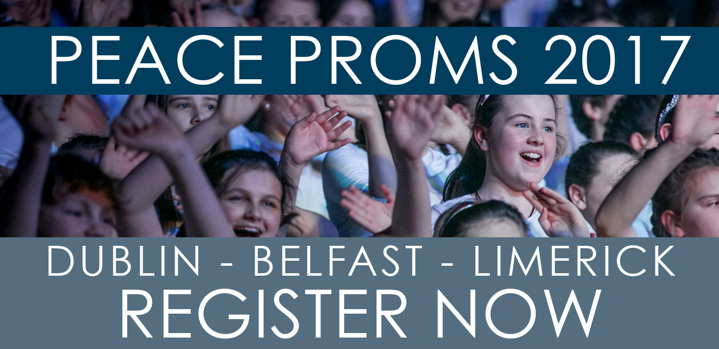 Want to be involved in Peace Proms 2017?Register Your School Now