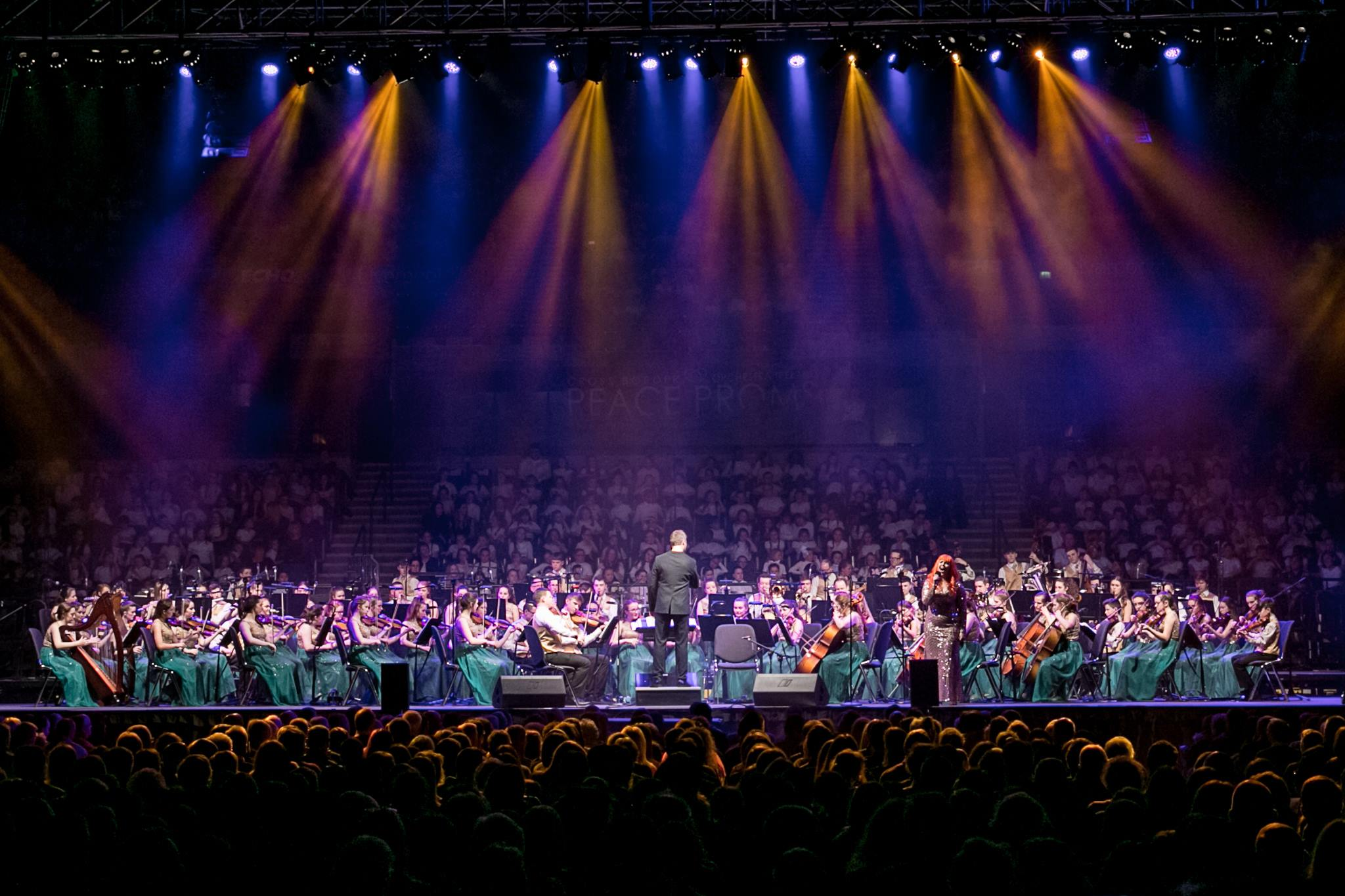 Peace Choir Lights Up Echo ArenaLiverpool Peace Proms